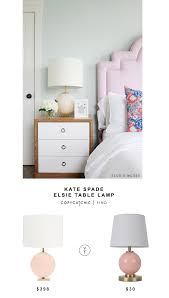 Kate Spade Vases Kate Spade Elsie Table Lamp Copy Cat Chic Glass Table Lamps