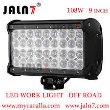 Led Light Bar For Cars by Work Light Led Light Bar 108w 9 Inch 4 Row Car Led Light Auto