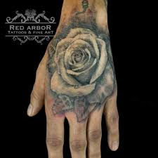 grey rose tattoo for men inner bicep tattoo ideas for men be