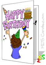free printable cards for kids printable birthday cards thank