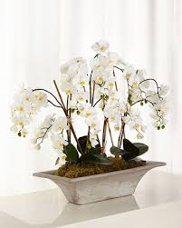 faux orchids richard collection armature orchids faux floral arrangement