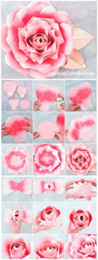 wedding backdrop template large paper template paper flower printable template