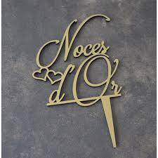poeme 50 ans de mariage noces d or topper gâteau noces d or pour 50 ans de mariage