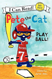 pete the cat play ball my first i can read by james dean book