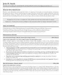 Resume Template Executive Assistant 10 Senior Administrative Assistant Resume Templates U2013 Free Sample
