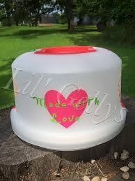 personalized cake plate 14 best personalized cake pan with lid images on