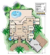 colonnade house plan weber design group naples fl