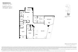 Floor Layouts Biscayne Beach Condo Floor Plans Biscayne Beach Luxury Condos