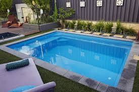Small Garden Pool Ideas Modern Small Backyard Pool Ideas Complete With Lounger Pool
