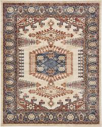 Round Persian Rug by Traditional Large Faded Persian Design Area Rug Small Vintage