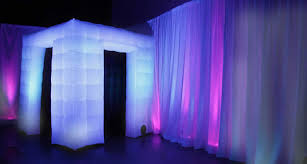 booth photo booth enclosure for events and