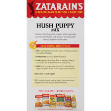 zatarain u0027s new orleans style hush puppy mix 10 6 oz walmart com