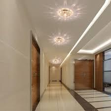 crystal ceiling lamp hallway lights aisle ceiling lights