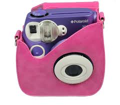 polaroid instant 300 pink carry for polaroid 300