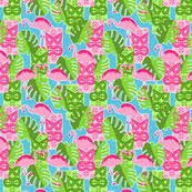 lilly pulitzer fabric wallpaper u0026 gift wrap spoonflower