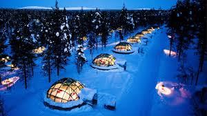 finland northern lights hotel imagine a remote glass igloo bedroom to view the finnish northern