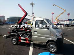 subaru mini truck lifted chang u0027an hook lift mini garbage collection roll off garbage truck