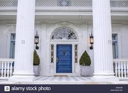 greek revival style house greek revival style house in charleston south carolina stock