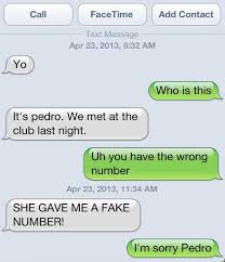 35 Hilarious Funny Texts Messages - the 28 most flawless responses to a wrong number text this is