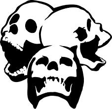 two free skull stencils wewillkill
