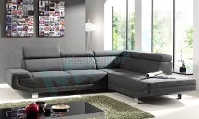 canapé design pas cher tissu canape d angle design pas cher en tissu gris rubic