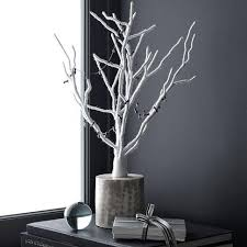 wrapped tree west elm