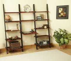 French Country Bookshelf Leaning Desk With Shelves Office Desk With Bookshelf Simple