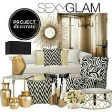 Gold Home Decor Accessories Bring Home Big City Style With Metallic Gold And Black Decor