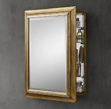 Framed Mirror Medicine Cabinet D Framed Silver Framed Medicine Medicine Cabinets Rh