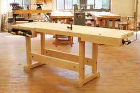 How To Build A Bench Vise Diy Master Cabinetmaker U0027s Bench Plans Make A Workbench