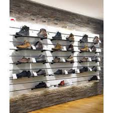 Shoe Display Racks Slat Wall Panel For Shoes At Rs 9000 Unit S Shoes Display