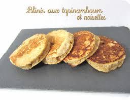 topinambour recette cuisine blinis aux topinambours et noisettes cuisine et dépendances
