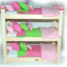 18 Inch Doll Bunk Bed Double Doll Bunk Bed Paris France American Made Doll Bed