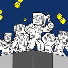 minecraft coloring pages 52 free printables kids