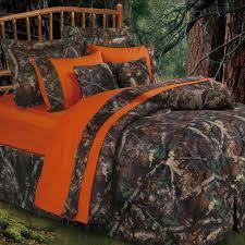 Rustic Bedroom Bedding - oak camo camouflage rustic comforter bed set