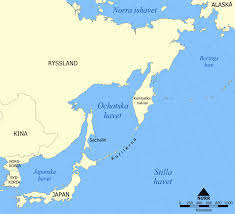 Korea On Map File Sea Of Okhotsk Map Sv Png Wikimedia Commons