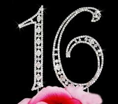 cake topper numbers 16 large cake topper swarovski numbers sale