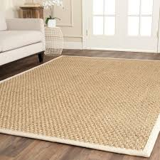 Faux Sisal Rugs Home Depot by Safavieh Natural Fiber Beige Ivory 6 Ft X 9 Ft Area Rug Nf114j 6