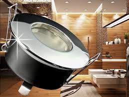 einbaustrahler badezimmer led einbaustrahler ip65 für nassräume geeignet badezimmer
