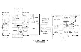 5 Bedroom 3 Bath Floor Plans by Oglethorpe Ii Home Builders In Augusta Ga