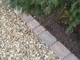Patio Edging Options by Download Gravel Driveway Ideas Garden Design