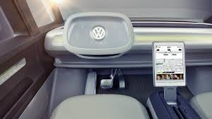 volkswagen concept van interior volkswagen u0027s combi van returns u2026 u2026its confirmed for production