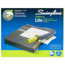 coupe papier design swingline 9312 classiccut lite 13