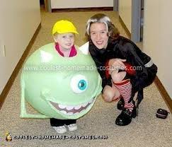 Mike Halloween Costume Coolest Homemade Mike Wazowski Costumes