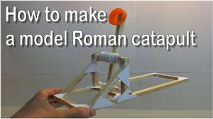 ideas for ks2 roman project dt projects how to make a model roman catapult youtube