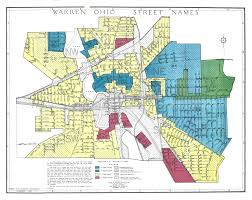 Warren Michigan Map by Redlining Maps Maps U0026 Geospatial Data Research Guides At Ohio