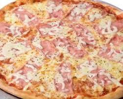 cuisiner du jambon blanc recette pizza au jambon blanc parmesan olives noires et courgettes