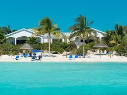 sapodilla bay beach turks caicos islands caribbean coconut