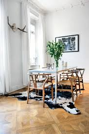 Cowhide Dining Room Chairs Cowhide Rug U2013 A Fresh Interior Accent Hum Ideas