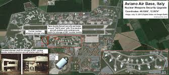 Nuclear Bomb Map Upgrades At Us Nuclear Bases In Europe Acknowledge Security Risk